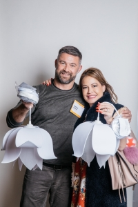 Matthew Berman and Claudine Lostao