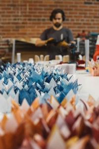 We made hundreds of Flare votives prepping for Holiday craze.